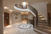 Фото 16 Ступени для лестниц из керамогранита: преимущества, облицовка и 60+ функциональных интерьерных идей