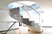 Фото 21 Ступени для лестниц из керамогранита: преимущества, облицовка и 60+ функциональных интерьерных идей