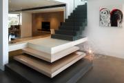 Фото 28 Ступени для лестниц из керамогранита: преимущества, облицовка и 60+ функциональных интерьерных идей