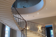 Фото 30 Ступени для лестниц из керамогранита: преимущества, облицовка и 60+ функциональных интерьерных идей
