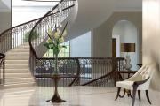 Фото 37 Ступени для лестниц из керамогранита: преимущества, облицовка и 60+ функциональных интерьерных идей