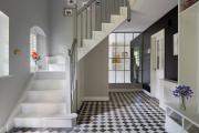 Фото 41 Ступени для лестниц из керамогранита: преимущества, облицовка и 60+ функциональных интерьерных идей
