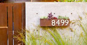 Создаем эффектный экстерьер: оригинальные таблички для дома и как их сделать? фото