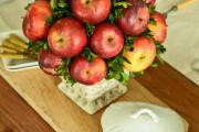 Фото 9 Топиарий из фруктов: мастер-класс по созданию аппетитного шедевра своими руками