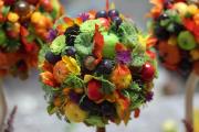 Фото 4 Топиарий из фруктов: мастер-класс по созданию аппетитного шедевра своими руками