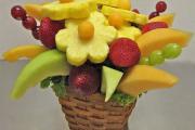 Фото 12 Топиарий из фруктов: мастер-класс по созданию аппетитного шедевра своими руками