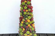 Фото 2 Топиарий из фруктов: мастер-класс по созданию аппетитного шедевра своими руками