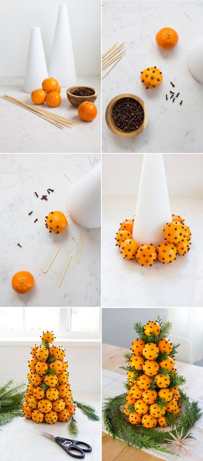 Апельсин с гвоздикой поможет создать неповторимую атмосферу в вашем доме