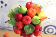Фото 31 Топиарий из фруктов: мастер-класс по созданию аппетитного шедевра своими руками