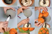 Фото 32 Топиарий из фруктов: мастер-класс по созданию аппетитного шедевра своими руками