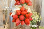 Фото 21 Топиарий из фруктов: мастер-класс по созданию аппетитного шедевра своими руками