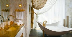 Ванны из литьевого мрамора: долговечность и роскошь без компромиссов фото