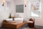 Фото 21 Ванны из литьевого мрамора: долговечность и роскошь без компромиссов