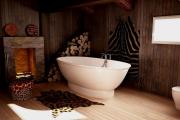 Фото 30 Ванны из литьевого мрамора: долговечность и роскошь без компромиссов