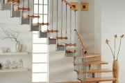 Фото 16 Безопасность в доме: как выбрать и установить защиту на лестницу от детей