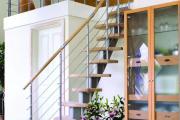 Фото 25 Безопасность в доме: как выбрать и установить защиту на лестницу от детей