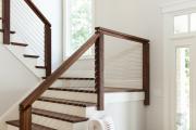 Фото 38 Безопасность в доме: как выбрать и установить защиту на лестницу от детей