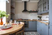 Фото 2 Дизайн интерьера кухни 6 кв. метров: полезные советы по выбору мебели и 80+ фото стильных планировок