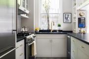 Фото 6 Дизайн интерьера кухни 6 кв. метров: полезные советы по выбору мебели и 80+ фото стильных планировок