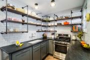 Фото 30 Дизайн интерьера кухни 6 кв. метров: полезные советы по выбору мебели и 80+ фото стильных планировок
