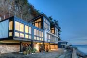 Фото 7 Современные красивые коттеджи (80+ фото проектов): как построить дом своей мечты — советы опытных застройщиков