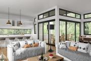 Фото 27 Современные красивые коттеджи (80+ фото проектов): как построить дом своей мечты — советы опытных застройщиков