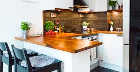 Дизайн интерьера кухни 6 кв. метров: полезные советы по выбору мебели и 80+ фото стильных планировок фото