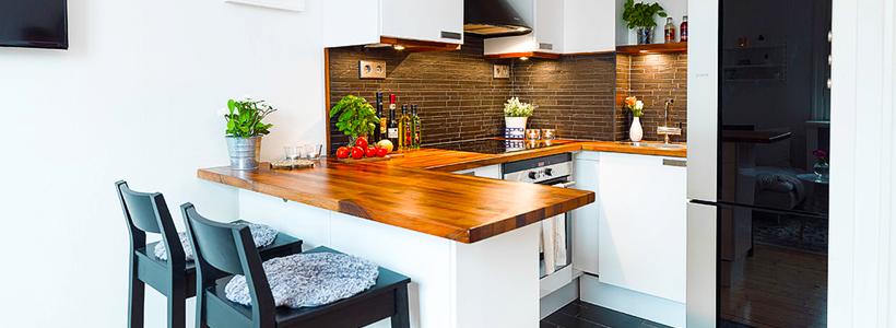 Дизайн маленькой кухни: варианты планировок и максимум функциональности в рамках 6 кв. м