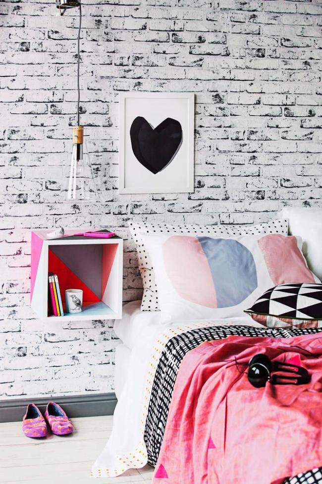 Спальня малышки в стиле минимализм