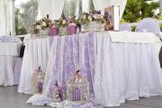 Фото 5 Оформление зала на свадьбу (90 фотоидей): тренды года и советы по выбору стилистики, цветовой гаммы и декора