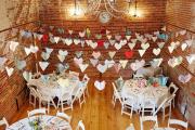 Фото 6 Оформление зала на свадьбу (90 фотоидей): тренды года и советы по выбору стилистики, цветовой гаммы и декора
