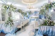Фото 12 Оформление зала на свадьбу (90 фотоидей): тренды года и советы по выбору стилистики, цветовой гаммы и декора