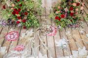 Фото 20 Оформление зала на свадьбу (90 фотоидей): тренды года и советы по выбору стилистики, цветовой гаммы и декора