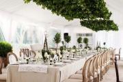 Фото 22 Оформление зала на свадьбу (90 фотоидей): тренды года и советы по выбору стилистики, цветовой гаммы и декора