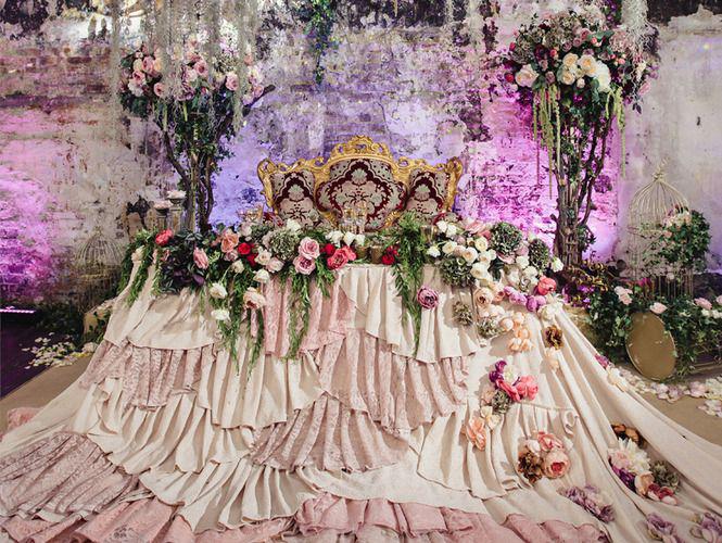 Оформление зала на свадьбу Тренды годы и цветовые гаммы