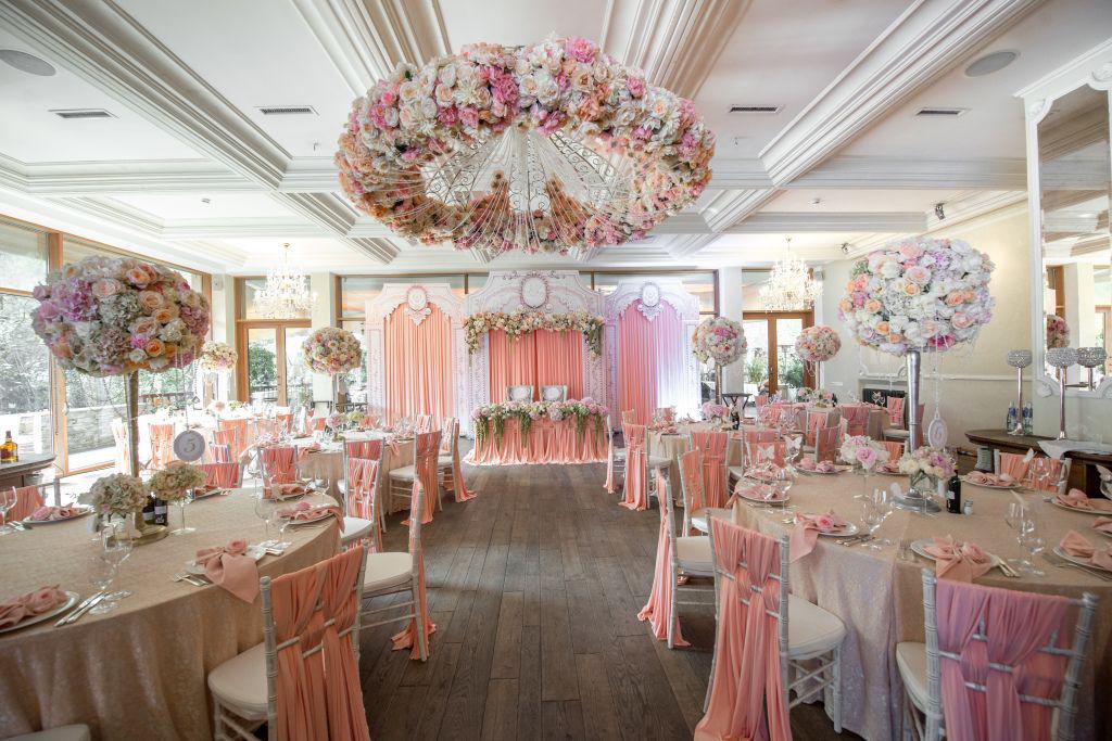 Оформление зала на свадьбу 100 Фото ��Недорого и со вкусом!