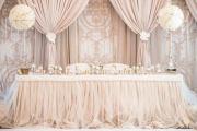 Фото 3 Оформление зала на свадьбу: тренды года и советы по выбору стилистики, цветовой гаммы и декора