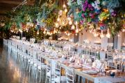 Фото 29 Оформление зала на свадьбу (90 фотоидей): тренды года и советы по выбору стилистики, цветовой гаммы и декора