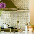 Отделка стен на кухне: обзор современных материалов и 60+ реализаций в интерьере фото