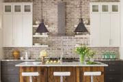 Фото 5 Отделка стен на кухне: обзор современных материалов и 60+ реализаций в интерьере