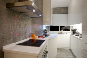 Фото 1 Отделка стен на кухне: обзор современных материалов и 60+ реализаций в интерьере