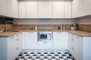 Фото 21 Плитка на пол для кухни: разбираемся в типах, материалах и укладке