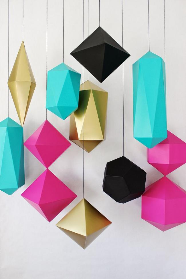 Оригами абажур оригами своими руками