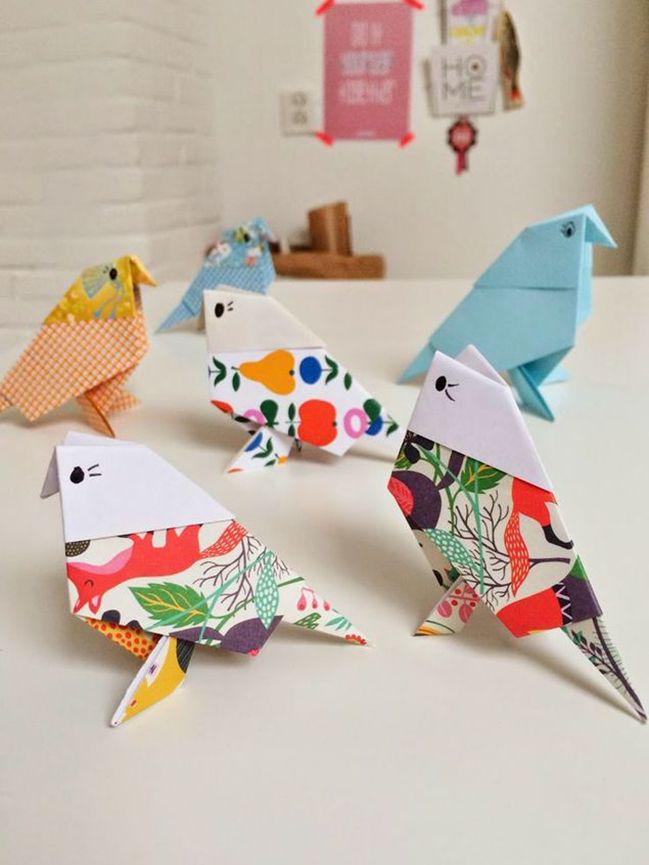 Поделки из бумаги и декоративное оригами: от азов к более утонченным фигурам