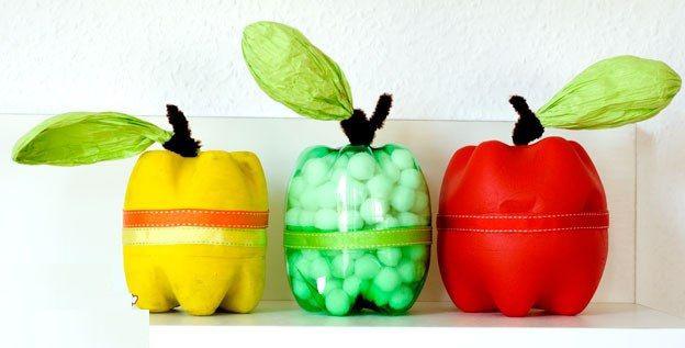 Коробочки для мелочей в виде яблочка