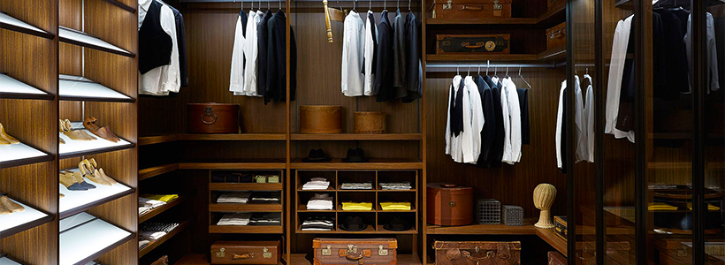 Для тех, кто всегда с иголочки: лучшие варианты систем хранения для гардеробной