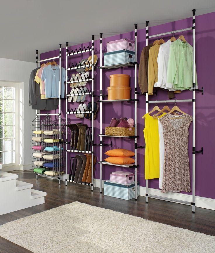 Системы хранения вещей для гардеробной (IKEA, Elfa и другие)