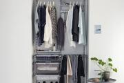 Фото 20 Для тех, кто всегда с иголочки: лучшие варианты систем хранения для гардеробной