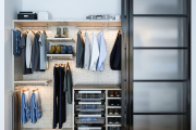 Фото 28 Для тех, кто всегда с иголочки: лучшие варианты систем хранения для гардеробной