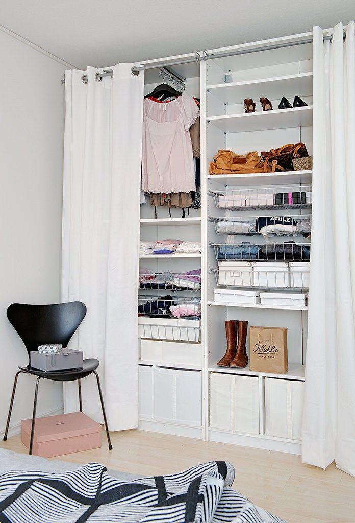 Гардеробные для маленькой комнаты дизайн проекты фото